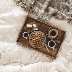 Breakfast in bed... Coffee and waffles. Am I dreaming? www.sjcoffee.com  San Joaquin Coffee Co.