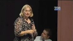 Anti-fluoride lobbyist Merilyn Haines argues against using the chemical in water supplies.