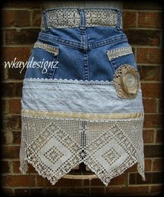 Classy Sassy Skirts – Upcycled Denim Skirts | Jeans recycled ...