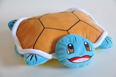 POKEMON SQUIRTLE CHENILLE PILLOW TRANSFORMER turtle animal plush toy anime | eBay