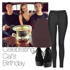 """HAPPY BIRTHDAY CAL!"" by edna-loves-1d ❤ liked on Polyvore featuring Miss Selfridge, Topshop, women's clothing, women's fashion, women, female, woman, misses and juniors"