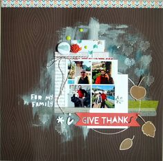 Give Thanks - Scrapbook.com