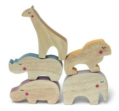 Wooden Toys - Cheekeyes by Roger van Zijp - Toy Design at Coroflot.com
