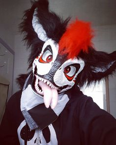 Dinosaur Mask, Best Cosplay, Awesome Cosplay, Pokemon Eevee, Skull Mask, Furry Drawing, Anthro Furry, Emo Bands, Fursuit