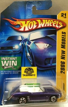 Mattel Hot Wheels Racing Stock Car - 2006 New Models This item is NOT in Mint Condition and is in no way being described as Mint or even Near Mint. Our toys have not always lead the perfect life, nor