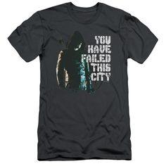 Green Arrow You Failed on Charcoal T-Shirt