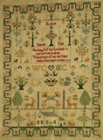 Isabella Cook 1835 Antique Samplers Samplers Cross Stitch