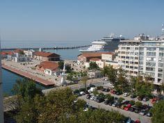 Port view, Thessaloniki Thessaloniki, Greece, Dolores Park, Explore, Travel, Greece Country, Viajes, Traveling, Trips