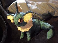 Free Crochet Pattern - Vaporeon