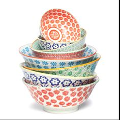 Anthropologie bowls - fun for the kitchen