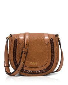 31819a9654d1 Michael Kors Skorpios Saddle Bag