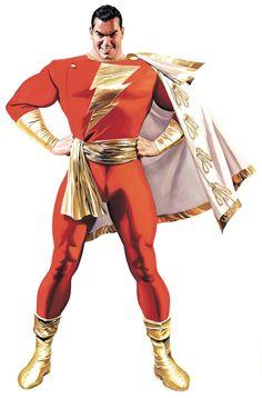 Captain Marvel/Shazam by Alex Ross