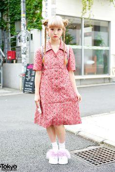Kinako, 18 years old, student   26 July 2014   #Fashion #Harajuku (原宿) #Shibuya (渋谷) #Tokyo (東京) #Japan (日本)