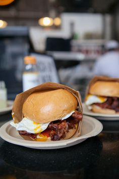 Eggslut Los Angeles @Laura Bernier we have to try this next time I'm in town