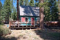 Judge Peek is a classic and historic Lake Tahoe mountain home, perfect for a quite couples getaway. $160-$195 per night