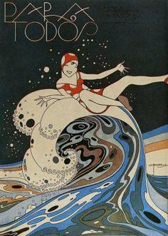 / J. Carlos, da revista Para Todos: ilustrador influente nos anos 1920