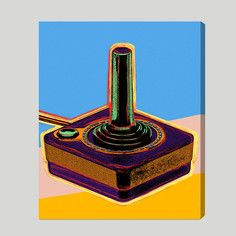 Warhol Joystick 20x24, $99, now featured on Fab.