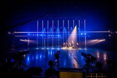 Concert Lights, Scenic Design, Event Management, Behance, Scene, Studio, Digital, Tv, Lighting