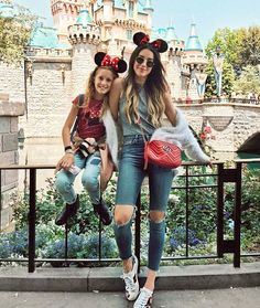 Fashion girls are showing us exactly what to wear to Disneyland. See their outfits and shop similar pieces.