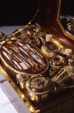 Napoleon's exquisite brass inlaid Necessaire de Voyage