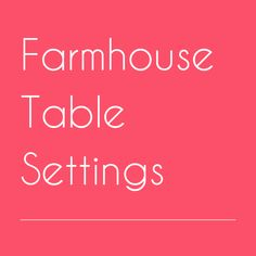 Farmhouse Table Settings Place Settings, Table Settings, Key To Happiness, Farmhouse Table, Tablescapes, Pillows, Table Top Decorations, Table Centerpieces, Dining Set