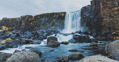 Öxarárfoss, Iceland by Jelle Canipel on 500px