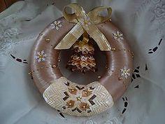 Dekorácie - Vianočný veniec - 4764890_