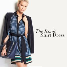 Ann Taylor 601.605.1874 The Iconic Shirt Dress @renaissanceatcolonypark #shoprenaissance @Ann Taylor  (at Renaissance at Colony Park)