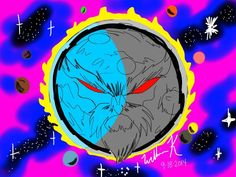 eclipso(dc comics)/ego the living planet