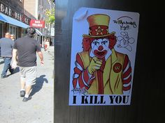Ronald McDonald? Mr One Teas, The Wack Donald's Project: I Kill You
