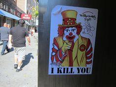 Ronald McDonald? Mr One Teas, The Wack Donald's Project: I Kill You