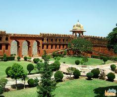 Jardim indiano.