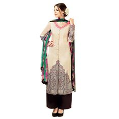 Buy NAKSH CREATION Cotton Multi Color Semi Stitched Suit by Naksh Creation, on Paytm, Price: Rs.2999?utm_medium=pintrest