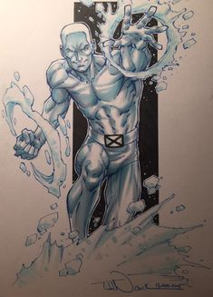 Ice Man by Todd Nauck *