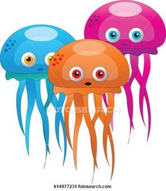 Jelly fish Clip Art EPS Images. 121 jelly fish clipart vector illustrations available to search from over 15 royalty free illustration and s...  Used