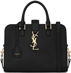 Saint Laurent Baby Monogram Cabas Tote