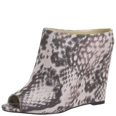 Snakeskin Christian Siriano for Payless wedges. i really almost bought these like 3 times lol