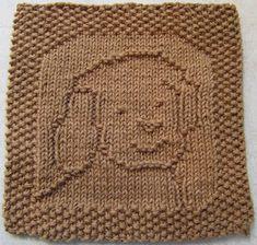 Free Knitting Pattern - Dishcloths & Washcloths : Gus Puppy Cloth