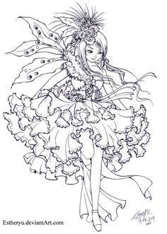 Visual LOlita:Contest Lineart by =Estheryu on deviantART