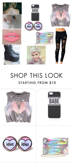 """Untitled #560"" by zoeeliza ❤ liked on Polyvore featuring Forever 21, BOY London and With Love From CA"