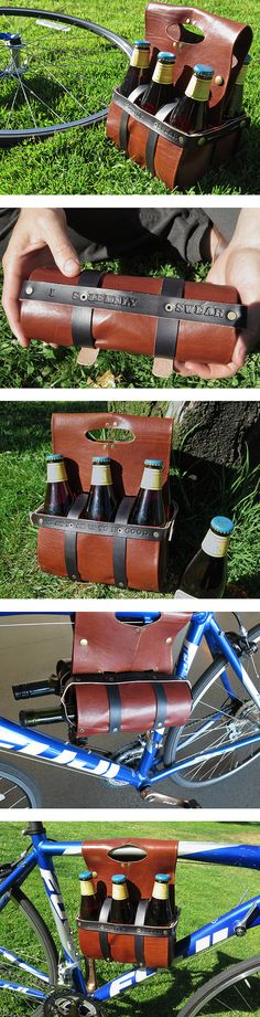 Leather Beer & Wine Carrier                                                                                                                                                                                 More