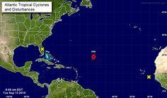 Tormenta tropical Ian avanza hacia el norte del Océano Atlántico
