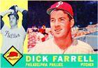 For Sale: 1960 Topps Dick Farrell Philadelphia Phillies #103 Baseball Card http://sprtz.us/PhilliesEBay