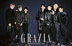 GOT7 - Grazia Magazine December Issue '14