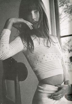 Vintage Jane Birkin, 1960s. Via Local Milk Tumblr.