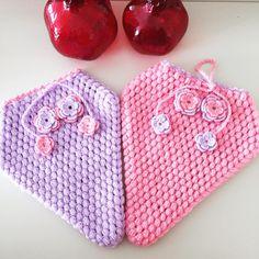 Tığ işi Lifler #lif #knitting #ceyiz #örgü #elisi #hobi