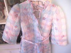 Vintage Girls Robe 3T4T by lishyloo on Etsy, $10.00
