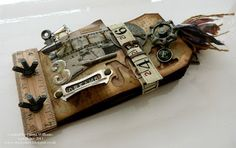 That's Life: Cherish Your Dreams...Tim Holtz products he is an amazing designer
