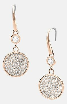 drop earrings - so cute