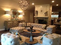 Living Room Design by Melissa Engelke. ME Interiors